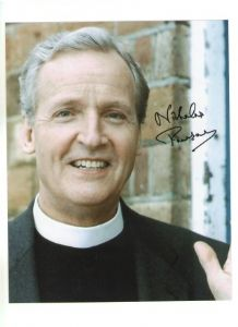 Nicholas Parsons from Dr Who